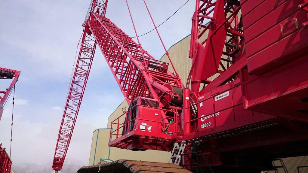 crawler crane 18000