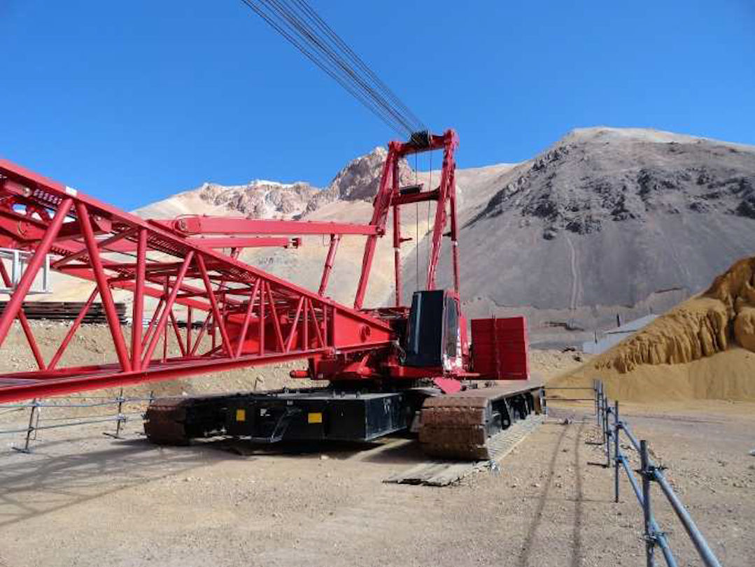 crawler crane 2250
